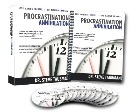 Procrastination Annihilation: Six Week Home Study Course